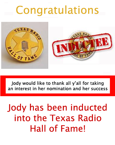 Thanks for the nomination; I got inducted!